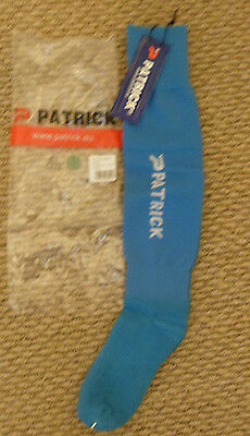 New Light Blue Football Socks Patrick Sizes 0 1 2 3 Or 4 Good Quality Socks