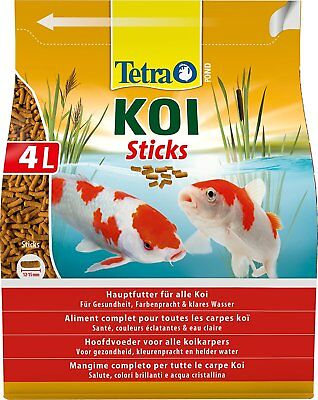 Tetra Pond Fish Koi Stick 4L / 650g - Posted Today if Paid Before 1pm