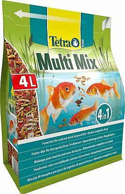 TETRAPOND TETRA POND MULTI MIX 4L 760g GARDEN POND KOI GOLDFISH FISH FOOD STICK