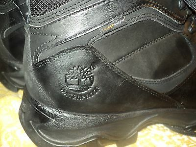TIMBERLAND  EARTHKEEPERS MT. MADDSEN  BLACK  HIKING BOOTS  SIZE 9 M