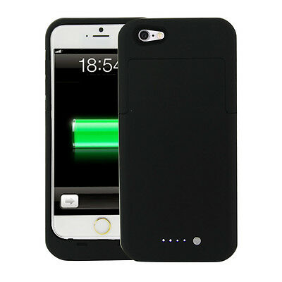 External Battery Backup Power Bank Charger Case Cover for Apple iPhone