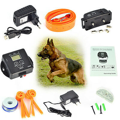 Waterproof In-Ground Electronic Wireless Remote Pet Dog Fence Containment System