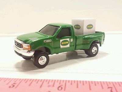 1/64 CUSTOM FORD f350 deltapine dealer TRUCK WITH seed pallet ERTL farm toy