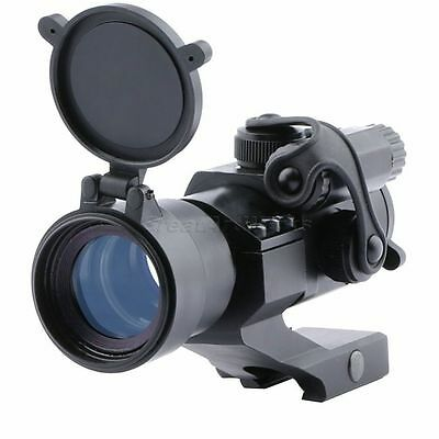 Tactical M2 1x30mm Red/Green Dot Sight Scope For Rifle Shotgun Weaver Rail Mount