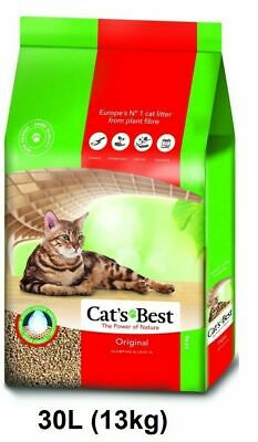 CatsBest Oko Plus Organic Clumping Cat Litter 30l