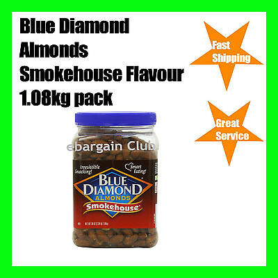 Blue Diamond Almonds Smokehouse Flavour 1.08kg Tub Almond