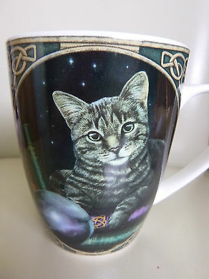 Fortune Teller Cat Mug Designed By Lisa Parker Pagan Wicca Comes In A Gift Box