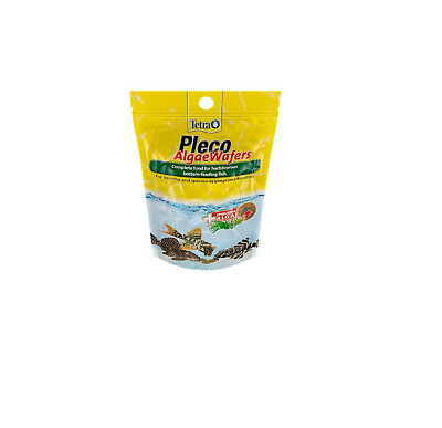 Tetra Pleco Multi Wafers 150g Pleco and Catfish Sinking Wafers Pellets