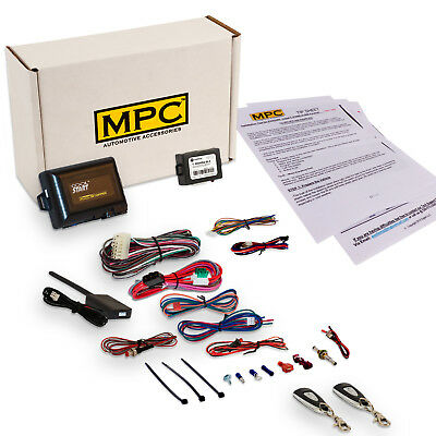 Complete 1-Button Remote Start/Remote Entry Kit for Honda and Acura 1998-2015