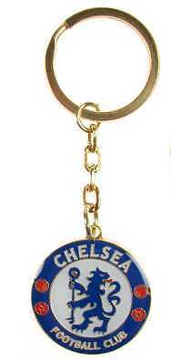Chelsea Football Club Metal Crest Car Keyring Key Ring Official Product Item CFC