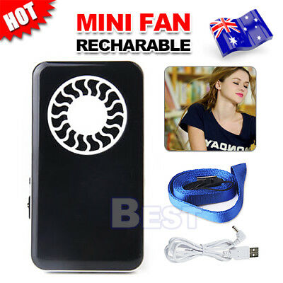 Mini Pocket Cooling Fan Operated Personal Summer Rechargeable Battery Lithium