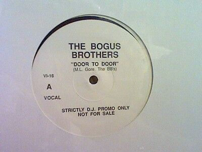 "BOGUS BROTHERS  Door To Door  12""  Promo  DEPECHE MODE  Sealed   RARE !!"