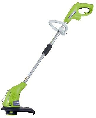 """GreenWorks 21212 4Amp 13-Inch Corded String Trimmer  4 Amp, 13"""" Cutting Path NEW"""
