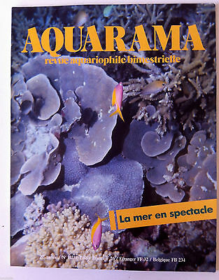AQUARAMA, Revue Aquariophile n°102; Maintenance et reproduction poisson-chat • EUR 4,00