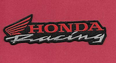 NEW 3 1//8 INCH HONDA RACING SPORTS REPSOL TEAM IRON ON PATCH FREE SHIPPING