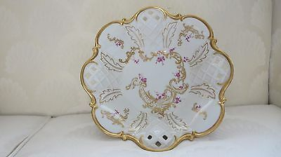 Vintage REICHENBACH Fine China White / Gold Fruit Bowl made in Germany