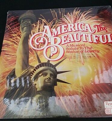FACTORY SEALED America The Beautiful A Musical Salute To The Statue Of Liberty