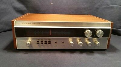 Receiver Sherwood S-7100A Vintage Working AM/FM with manual