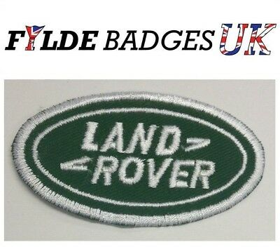 Land Rover Embroidered Sew On Car / Bike Patch Badge
