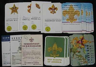 Lot of 26 Vintage BSA 1963-69 Oath Cards Pack 60 East Liverpool, OH