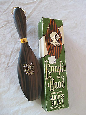 Vtg Knight Hood Men's Clothes Brush No. E-6354 Japan In Box