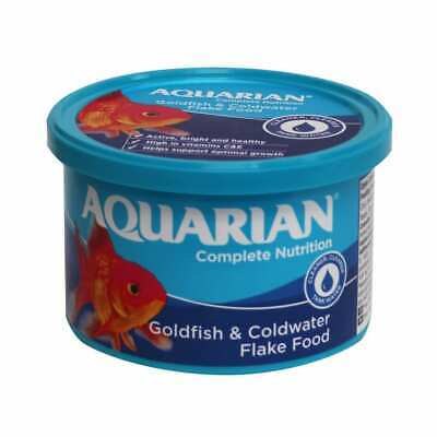AQUARIAN GOLDFISH FLAKE FOOD 200g - Posted Today if Paid Before 1pm