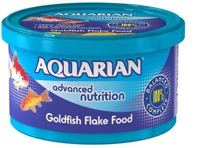 AQUARIAN GOLDFISH FLAKE FOOD 25g - Posted Today if Paid Before 1pm