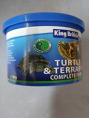 King British Turtle Food 80g - Posted Today if Paid Before 1pm