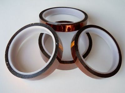 15mm*100ft Heat Resistant Kapton Tape High Temperature Polyimide Adhesive Tape