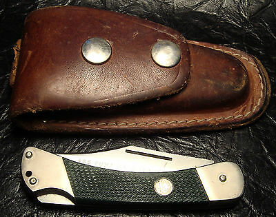 Puma 465 Back-Packer Knife w/Leather Case Germany