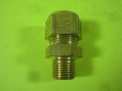 Parker CPI 10-6 Male Connector Brass -- FBZ-B -- New