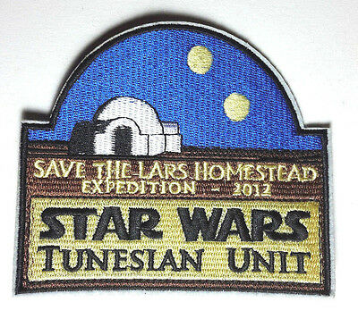 "Star Wars 4.5"" Tunesian Unit-Save the Lars Homestead Patch- FREE S&H(SWPA-KL-15)"