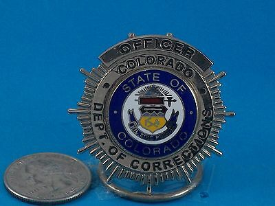 (Obsolete) Colorado Department of Corrections Officer Badge