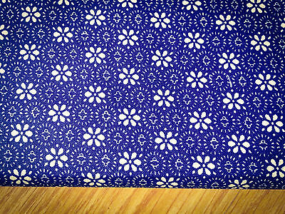 197 Shabby Chic Flowers on Lime Green Cotton Fabric Price per 1//2 metre