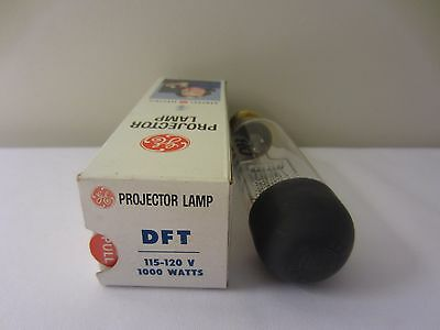 GE General Electric DFT 115-120V 1000W Projector Bulb Projection Lamp NOS