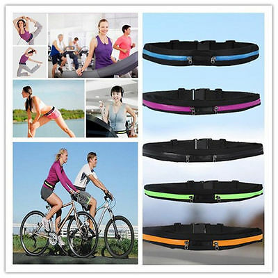 New Unisex Gym Fitness Sports Jogging Running Cycling Waist Belt Pack Bag Pouch