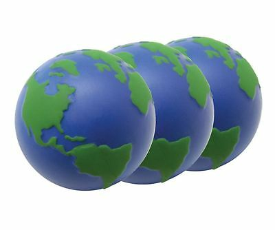 3 x Globe Stress Balls – Atlas, World Map ADHD SEN & PTSD ONLY £2.00 EACH