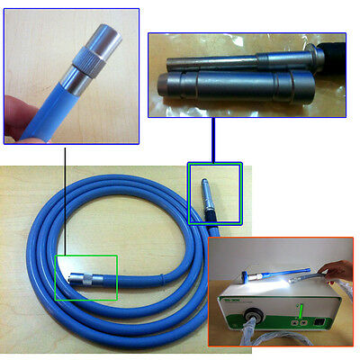 CE ISO Fiber Optic Cable To light source Endoscope 4*2000mm Surgical Equipment