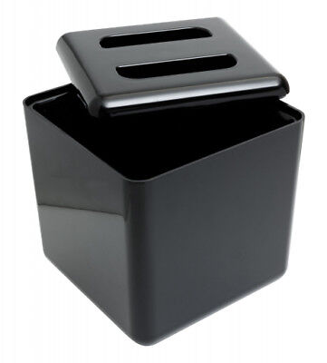 Black Ice Bucket Square with Liner 4 Litre