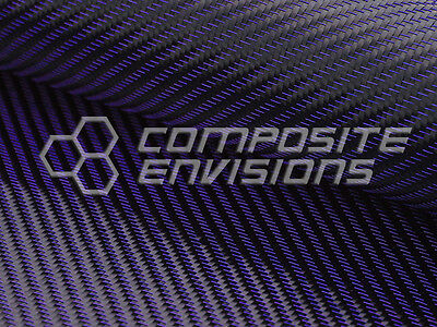 "Blue Mirage™ Carbon Fiber Cloth Fabric 2x2 Twill 50"" 3k 290gsm 8.6oz HD"
