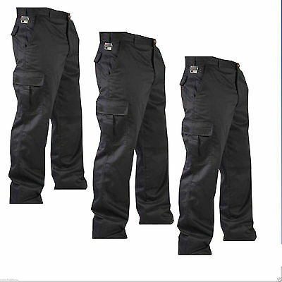 """New Mens Cargo Army Combat Work Trousers Paints Size 32""""- 40"""" with 32"""" Leg Size"""