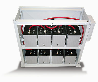 Beacon Power Battery Cabinet with Breaker Box