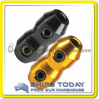 GO KART CABLE CLAMP HIGH QUALITY GOLD or BLACK  -  THE BEST NOT THE CHEAPEST !!