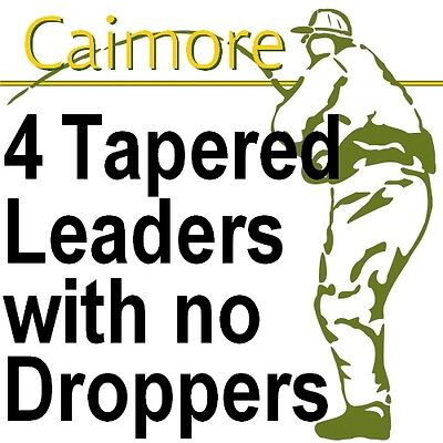 Tapered Leaders for Fly Fishing - Choice of Length & BS