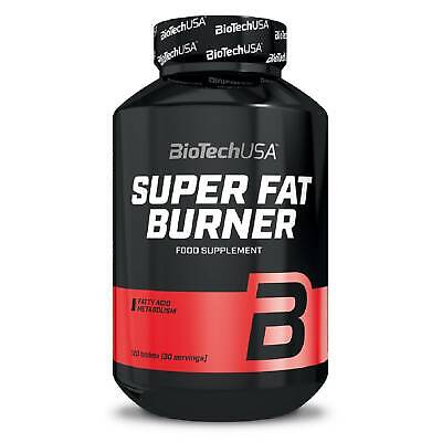 Biotech Usa - Super Fat Burner 120 cpr - Termogenico Bruciagrassi Dimagrante