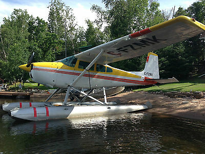 1967 CESSNA 180H on EDO 2870 floats (wheels included ) Fresh Annual