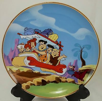 22.013| The Flintstones Franklin Mint Cartoon Collector Plate - Hanna - Barbera
