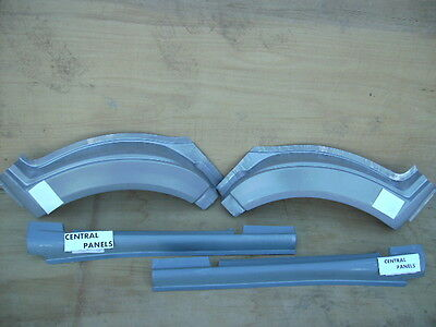 Ford Transit Mk6 & Mk7  2000 To 2013  New Front Wheel Arch & Sill Set Both Sides