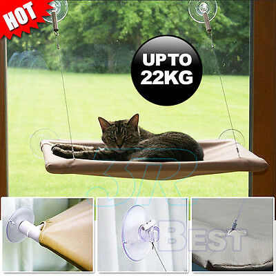 Comfortable Cat Window Bed Pets Mounted Wall Home Hammock Cover Washable