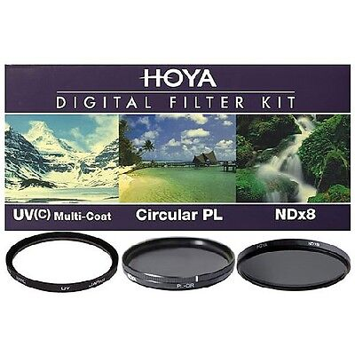 HOYA Digital Filter Kit HMC UV(C)+CIR-PL+NDX8-37/40.5/43/46/49/52/58/62/67/72/77